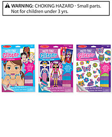 Melissa and Doug Kids' Mess-Free Glitter Gift Set