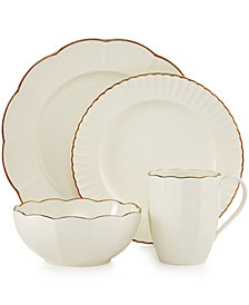 Marchesa by Lenox Dinnerware, Shades of White Collection