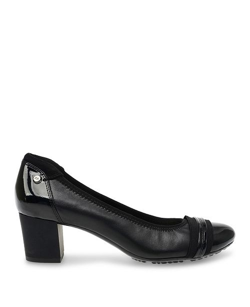 119aa58095 Anne Klein Sport Guardian Block Heel Pumps & Reviews - Pumps - Shoes ...