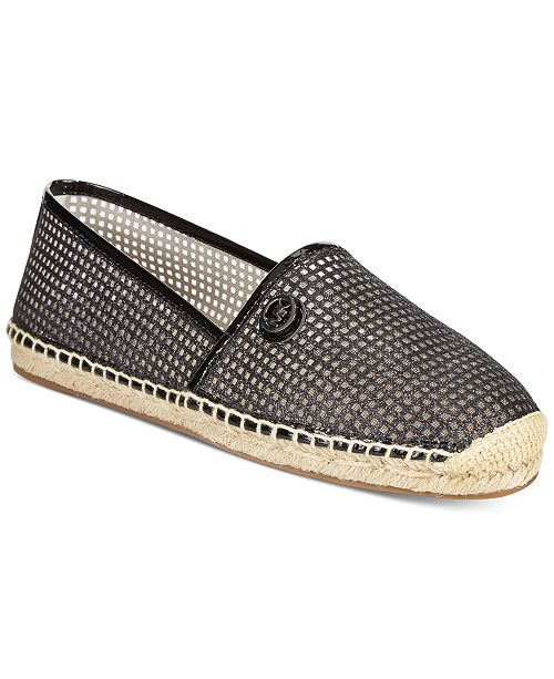 004127558207 Michael Kors Kendrick Slip-on Espadrille Flats   Reviews - Flats ...