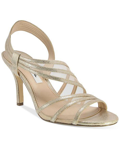 NINA Vitalia Asymmetrical Sandals Women's Shoes q1MuWC