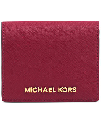 $43.5 MICHAEL Michael Kors Jet Set Travel Flap Card Holder @ macys.com