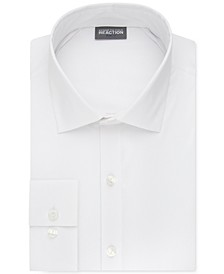 Slim-Fit Techni-Cole Flex Collar Solid Dress Shirt
