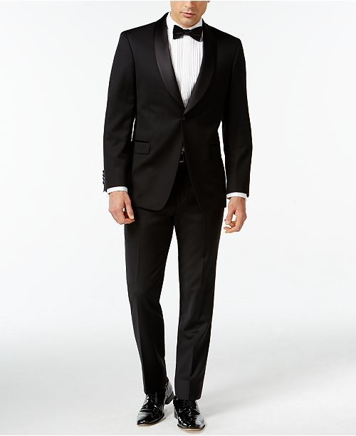 Tommy Hilfiger Tuxedo Shawl Collar Classic-Fit Suit Separates