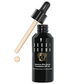 Bobbi Brown Intensive Skin Serum Foundation SPF 40, 1 fl.oz