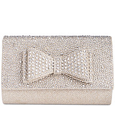 I.N.C. Leesie Bow Clutch, Created for Macy's