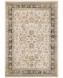 CLOSEOUT! Couristan HARAZ HAR1443 Ivory/Black Area Rugs