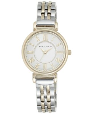 Image of Anne Klein Women's Two-Tone Bracelet Watch 30mm AK/2159SVTT