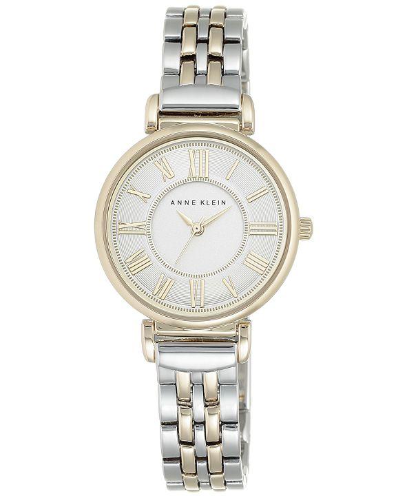 Anne Klein Women's Two-Tone Bracelet Watch 30mm AK-2159SVTT