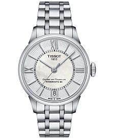 Tissot Women's Swiss Automatic Chemin Des Tourelles Stainless Steel Bracelet Watch 32mm T0992071111800