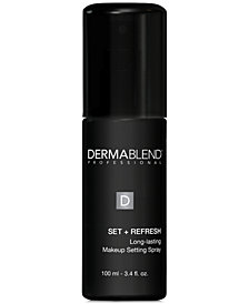 Dermablend Set + Refresh Spray, 3.4 oz.