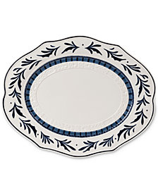 Fitz and Floyd Earthenware Bristol Serving Platter