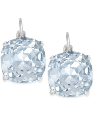 Kate Spade New York Crystal Small Drop Earrings Fashion Jewelry Watches Macy S