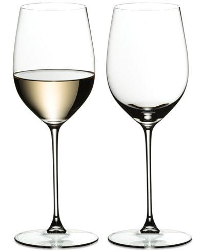 Riedel Veritas Riesling/Zinfandel Wine Glass Set of 2