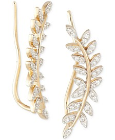 Diamond Ear Crawlers (1/5 ct. t.w.) in 14k Gold, Created for Macy's