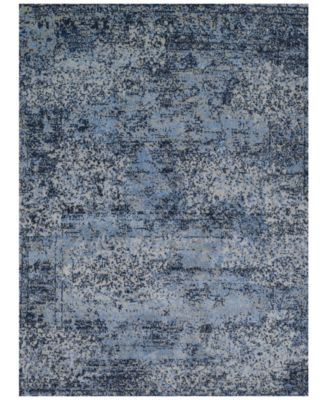 "Fusion Light Blue/Grey 7'7"" x 10'6"" Area Rug"