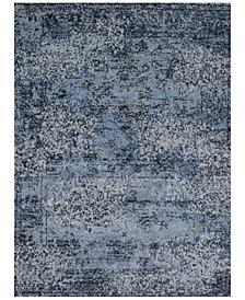 "Fusion Light Blue/Grey 5'3"" x 7'7"" Area Rug"