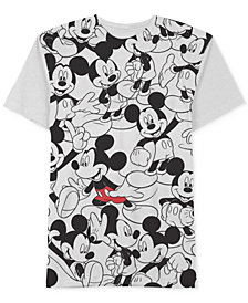 Jem Men's Repeating Mickey Mouse Disney T-Shirt
