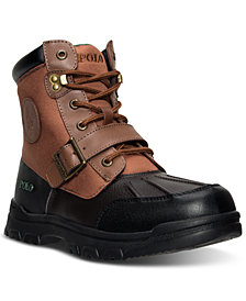 Polo Ralph Lauren Big Boys' Colbey Boots from Finish Line