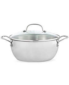 Stainless Steel 5.5 Qt. Covered Multi Pot