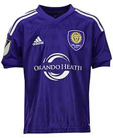 Kids' Orlando City SC Primary Replica Jersey, Big Boys (8-20)