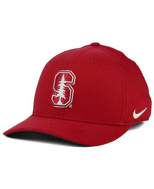 new arrival 64cf9 0ccf9 ... Nike Stanford Cardinal Classic Swoosh Cap ...