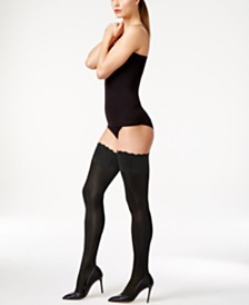 Wolford Satin Touch 20 Stay Up Thigh Highs