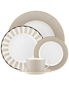 Brian Gluckstein by Lenox Audrey  Bone China 5-Pc. Table Setting