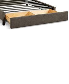 Upholstered Caprice Granite Full Storage Base