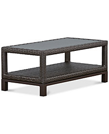 CLOSEOUT! Katalina Wicker Outdoor Coffee Table, Created for Macy's