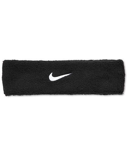 Nike Swoosh Headband - All Accessories - Men - Macy s c87df4623ba