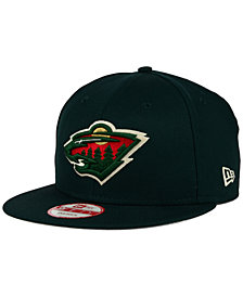 New Era Minnesota Wild All Day 9FIFTY Snapback Cap