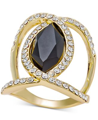 Image of INC International Concepts Pavé Crystal Statement Ring, Only at Macy's