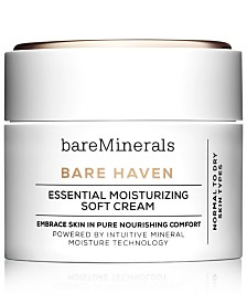 bareMinerals Bare Haven Essential Moisturizing Soft Cream 1.7oz
