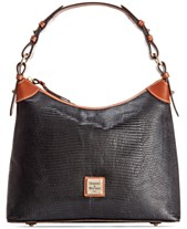 64ca29644796 Dooney   Bourke Lizard-Embossed Leather Hobo