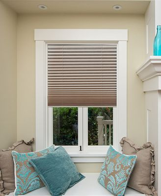Tool Free Installation! Redi Shade Light-Filtering Pleated Shade Collection