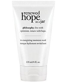 philosophy renewed hope hydrating mask, 4 oz
