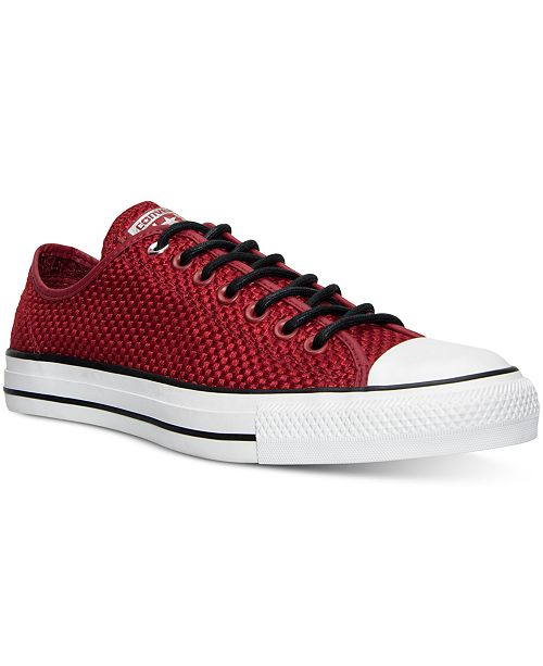eefa570ce15c4d ... Converse Men s Chuck Taylor All Star Ox Amp Cloth Casual Sneakers ...