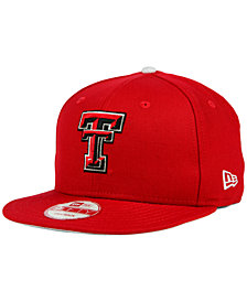New Era Texas Tech Red Raiders Core 9FIFTY Snapback Cap