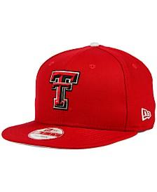New Era Texas Tech Red Raiders Core 9FIFTY Snapback Cap