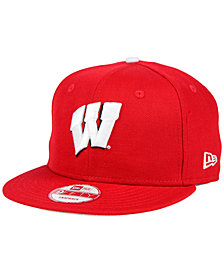 New Era Wisconsin Badgers Core 9FIFTY Snapback Cap