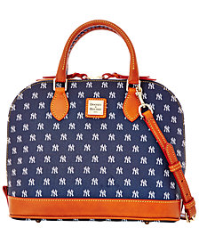 Dooney & Bourke New York Yankees Zip Zip Satchel