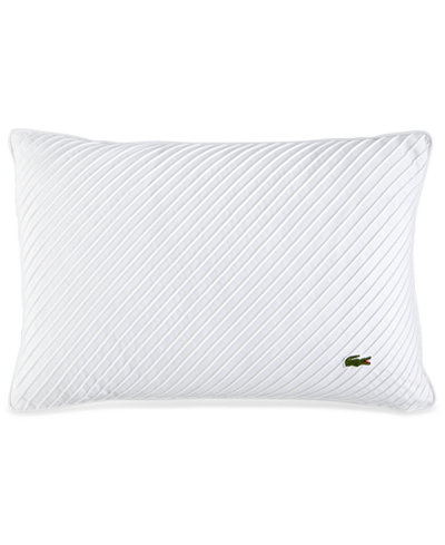 CLOSEOUT! Lacoste Home Pleated Stitched 12