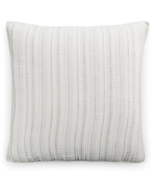 Hotel Collection Linen Fog Quilted European Sham Created for Macys Bedding