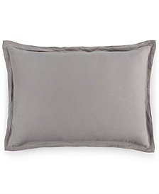 CLOSEOUT! Hotel Collection Linen Fog Standard Sham, Created for Macy's