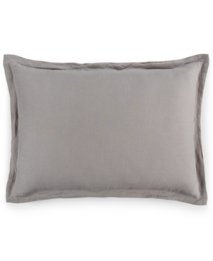 Hotel Collection Linen Fog Standard Sham Created for Macys Bedding