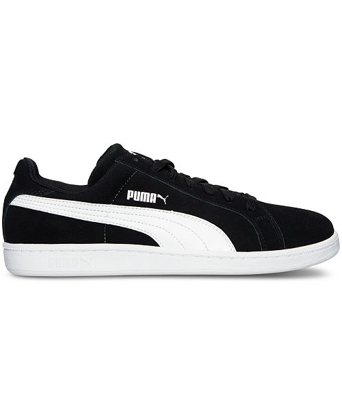 4f96d3230d7f Puma Men s Smash Suede Leather Casual Sneakers from Finish Line ...