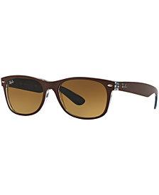 Ray-Ban NEW WAYFARER GRADIENT Sunglasses, RB2132 55
