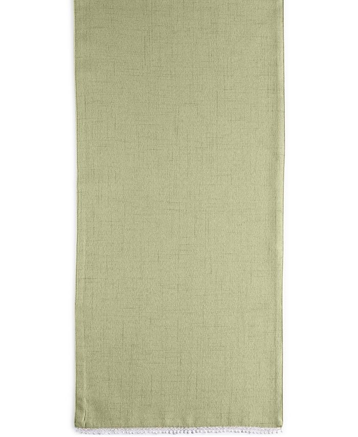 """Lenox - French Perle Collection 70"""" Pistachio Table Runner"""