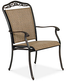 Beachmont II Outdoor Dining Sling Dining Chair, Created for Macy's